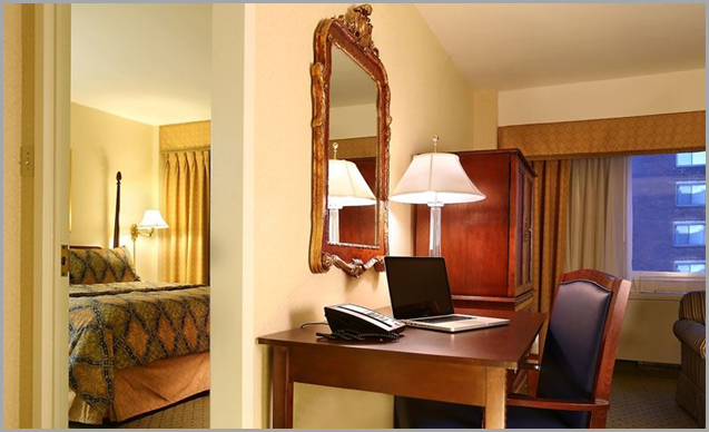 The George Washington University Inn Room